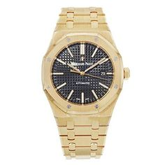 Audemars Piguet Royal Oak Automatic Black Dial 18kt Rose Gold Bracelet Mens Watch 15400OROO1220OR01 - $51,868.03 #Amazon #sale #audemarspiguet #Watchley