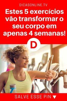 Exercícios para definir o corpo em casa   Estes 5 exercícios vão transformar o seu corpo em apenas 4 semanas!   E você faz estes cinco exercícios em apenas 10 minutos. Aprenda!