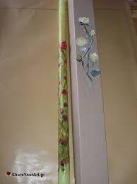 Σχετική εικόνα Stencil Painting, Easy Paintings, Folk Art, Stencils, Tableware, Easter, Decor, Light Bulb Vase, Dinnerware