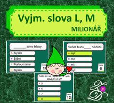 Produkt - Vyjmenovaná slova L, M Comics, Games, Gaming, Cartoons, Comic, Plays, Comics And Cartoons, Game, Toys