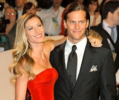 "Gisele Bundchen and Tom Brady attend the ""Alexander McQueen: Savage Beauty"" Costume Institute Gala at The Metropolitan Museum of Art on May 2, 2011 in New York City."