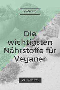 Vegane Ernährung: We