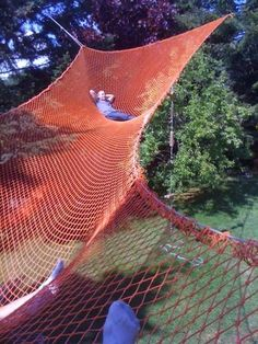 Ultimate backyard hammock...!!!
