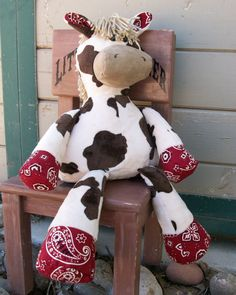 Nutty Nag Jacob Plush Animal Horse  by RusticHorseShoe