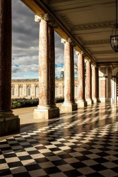 Peristyle of The Grand Trianon, Palace of Versailles, France