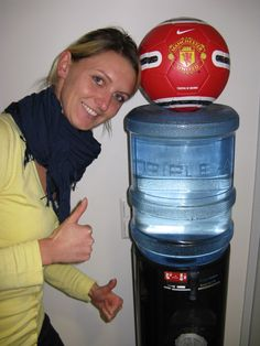 Aon at the water cooler