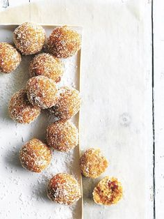 Coconut Chia And Apricot Bliss Balls | Donna Hay
