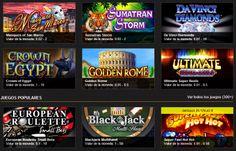 Variedad de juegos en un casino online como este https://casino.netbet.com/es/