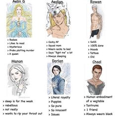 Ok let's be clear I do NOT approve of this art/style but the stuff on it is relatable. I am Manon and Manon is me.