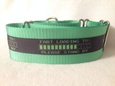 Nylon w/Fart Loading Ribbon Martingale or by DogCollarsByDesign, $10.75