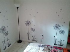 diy trees on wall - Google Search