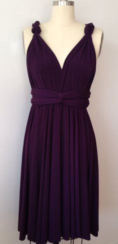My ladies picked out their BM dresses! :) Bari Jay 322 in Eggplant ...
