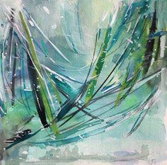 @jennyvorwaller watercolors at @westelm seattle
