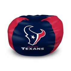 Buy this Houston Texans bean bag chair cheap! The best price on the NFL beanbags. NFL love sac chairs are plush seats to watch the game! Each Houston Texans beanbag has the team colors and logo on the front. Houstan Texans, Houston Texans Football, Texans Game, Houston Astros, Bean Bag Gaming Chair, Bean Chair, Childrens Bean Bags, Kids Bean Bags, Football Bean Bag