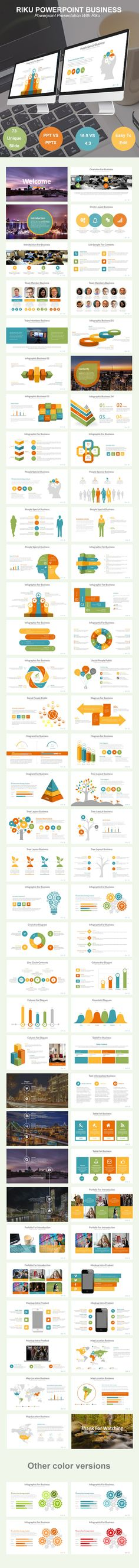 Business Proposal - Premium and Clean Powerpoint Template UPDATED - graphs and charts templates