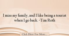 Tim Roth Quotes About Family - 20644