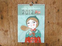 Anke Weckman 2012 Calendar