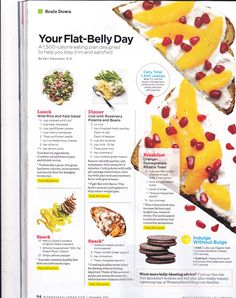 Diet Plan To Lose Weight : Flat-Belly Diet meal plan - Healthy 500 Calorie Dinners, How To Cook Polenta, Diet Recipes, Healthy Recipes, Vegetarian Recipes, Ab Diet, Flat Belly Foods, Diet Plans To Lose Weight, Food Storage