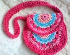HANDMADE CROCHET GIRLS KIDS HAND BAG PURSE GIFT  https://www.facebook.com/CrochetForYourBabiesUk