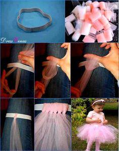 how to make tutu skirt