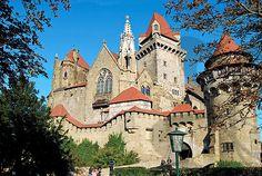 #Kreuzenstein castle in Lower Austria. 30 minutes drive from Vienna 2100 Leobendorf bei Korneuburg, Austria