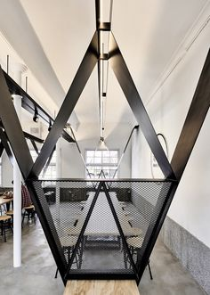 Ward with V dots | B+P Architects #Courtyard #Glass #NewTaipeiCity #Refurbishment #Renovation #structuralsystem #Structure #Taiwan #Ward #wards