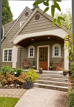 Craftsman Front Door - Found on Zillow Digs