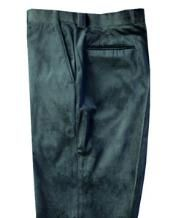 Blu Martini Mens Green Velvet Pants Flat Front 5060 If you prefer style on the cutting edge and like your Mens Slacks, Green Flats, Mens Dress Pants, Velvet Pants, Well Dressed Men, Green Velvet, Suit Fashion, Dress Shoes, Trousers
