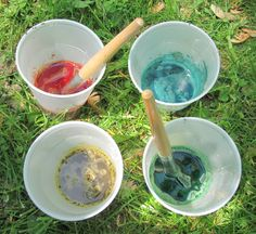 The Chocolate Muffin Tree: Colorful Mud Paintings for Our Mud Bakery