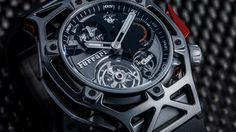Hublot se une al 70 aniversario de Ferrari con un espectacular cronógrafo - Diariomotor