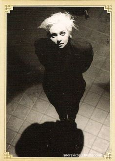 """Anja Huwe-Xmal Deutschland  Taken from the """"A Life Less Lived"""" booklet included in """"The Gothic Box"""" CD compilation"""
