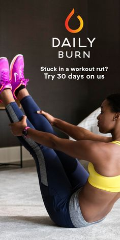 Stuck in a workout rut? A 30-day free trial to Daily Burn gives you full access to our entire library of streaming workouts, each ranging from 15 minutes to an hour. Try cardio, yoga, Pilates, strength training, and a variety of other workout programs! LIMITED TIME OFFER: Get 60% off 2 months of Daily Burn after your 30-day free trial.