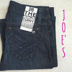 "Joe' Bootayyyy Jeans Joe's The Honey [n: booty fit] Curvy Jeans. Fitted at the waist and contoured for the ultra feminine physique. Inseam 33"". Fab pair of jeans to wear all the time. Feel free to ask any questions prior to purchase :) Joe's Jeans Jeans"