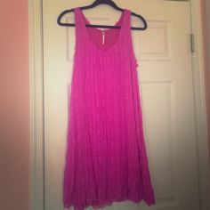 Free People Dress Free People Pink Dress. It is worn, but still in great condition! Free People Dresses