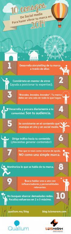 Te compartimos esta infografía con las acciones a realizar para que tus redes sociales sigan fluyendo. Fuente:LuisMaram