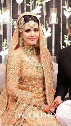 Mina Hasan Latest Bridal Dresses, Bridal Outfits, Pakistani Wedding Dresses, Pakistani Outfits, Bridal Looks, Bridal Style, Pakistan Wedding, Asian Bride, Bridal Lehenga