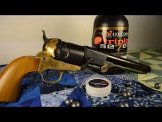 loading the 1851 colt navy replica revolver - YouTube