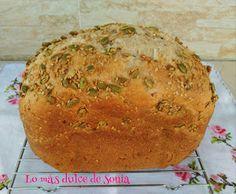 Pan multicereales con semillas en Panificadora | Cocina