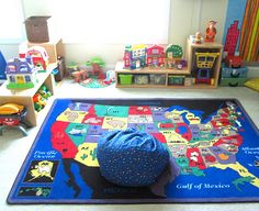 think classroom when organizing your home for kids...