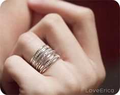 Sterling Silver Stacking Set of 10
