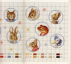 Beatrice Potter cross stitch patterns
