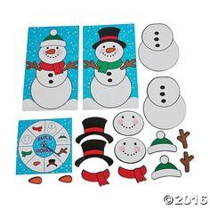 Build-a-Snowman Game - OrientalTrading.com