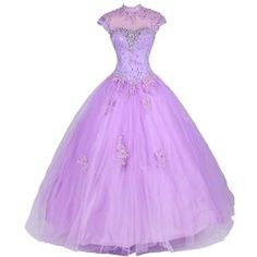 Dresstells A Line Prom Gown Classic Princess Dress with Beads and Lace