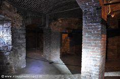 Varallo sotterranea, sotterranei del Teatro Civico http://www.viaggiaescopri.it/varallo-sotterranea/