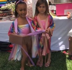 Fun day: North West and her cousin Penelope Disick celebrated their birthdays on Sunday. Kardashian Family, Kardashian Jenner, Kourtney Kardashian, Kardashian Style, Jenner Kids, Jenner Family, Kim And Kourtney, Kim And Kanye, Kim And North