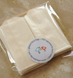 Items similar to QTY 25 Extra Small Flat Glassine Bags - 2 inch x inch - Business Card Size - Favors, Treats, FDA Approved for Food Contact on Etsy Eco Store, Paris Party, Brown Paper Packages, Business Card Size, Wedding Favours, Wedding Ideas, Favor Bags, Card Sizes, Paper Shopping Bag