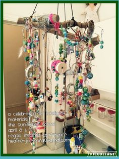 Mobile using loose parts - Sunflower School ≈≈