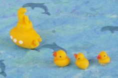 Make a 'rubber' duck for your bathroom - Dolls House Magazine - Crafts Institute