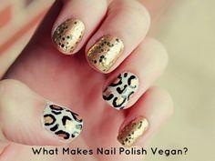What Makes Nail Polish Vegan?