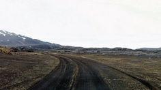 The F910 road leaving Askja, Iceland. Via Joe Capra...www.airpano.com